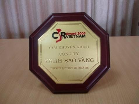 Giải thưởng thực hiện trách nhiệm xã hội ( 2006 )