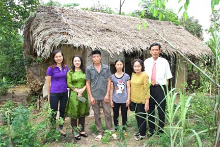Ngôi nhà cũ của gia đình anh Nguyễn Văn Lớn, thôn Gốc Đa, xã Đông Cuông, huyện Văn Yên (tỉnh Yên Bái).