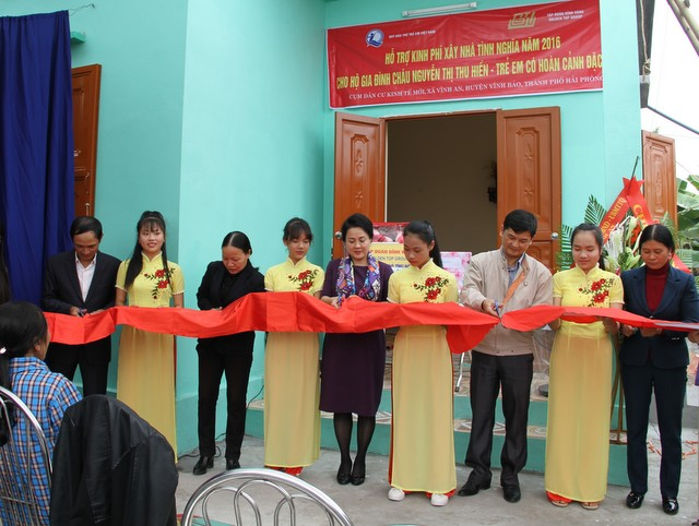 Tập đoàn Đỉnh Vàng luôn quan tâm tới công tác an sinh xã hội ở Hải Phòng